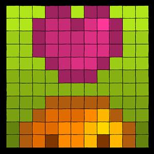 На любовь парня по любовному квадрату